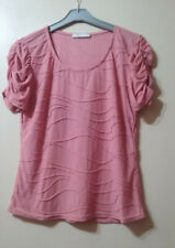 T-SHIRT Haut ARMAND THIERY Coloris ROSE Taille 44 TBE