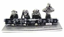 Jac Zagoory Pen Stand Write No Evil - 4 Monkeys Stand - JZ-PH75