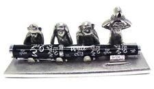 Jac Zagoory Pen Stand Write No Evil - 4 Monkeys Stand - JZ-PH75