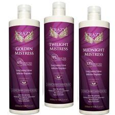 3 XLitre Crazy Angel Tanning Solution Golden 6%,Twilight 9% & Midnight 13% OFFER
