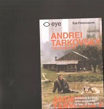 ANDREJ Andrei TARKOVSKI Prospectus The Exhibition EYE Filmmuseum Amsterdam 2019