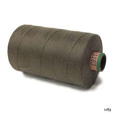 Amann 100% Polyester Core-Spun Sewing Thread Sabac 80 1000M Color 1183 Drab Gray