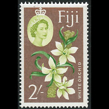 FIJI 1962-67 2s Orchid Flower. Wmk w12. SG 319. Mint Never Hinged (CA54K)