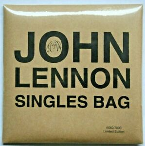 "JOHN LENNON Singles Bag 3 x 7"" RSD 6082/7000 Poster Postcards Beatles NEU/OVP"