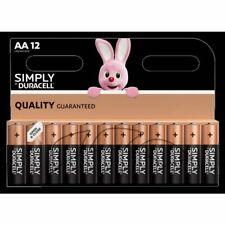 Duracell AA  Alkaline Battery LR6 Economy Pack 12 Batteries