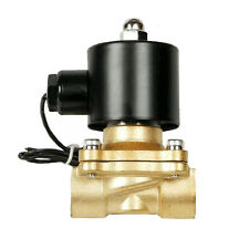 "V air ride suspension valve 1/2"" npt electric solenoid brass for train horn fast"