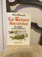 Henri Pourrat : Le Trésor des Contes : Le Diable et ses Diableries – 1977 TBE
