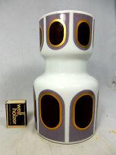 Rare Seltene 70´s Pop Art Design Heinrich Porzellan porcelain vase  2073  20 cm