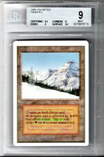 BGS Unlimited Taiga MTG 9.0 MINT Dual Land Beckett Graded Magic Silver Label
