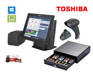 Toshiba Touchscreen Kasse Afono 365 Einzelhandel ideal für einen Dorfladen