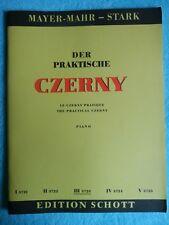 Der Praktische Czerny Edition Schott Untere Mittelstufe Band 3 3723 Notenheft