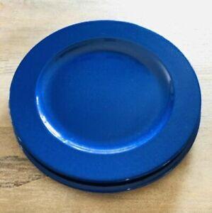 "Pier 1 Italy Blue Chop Plate/Platter 12-1/2"""