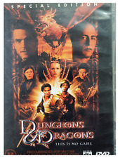 Dvd - Dungeons & Dragons - action fantasy Jeremy Irons Justin Whalin