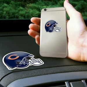 Fanmats NFL Chicago Bears Get a Grip Cell Phone Grip Thick Polymer Stickers