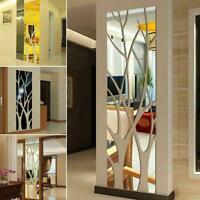 3D Tree Mirror Wall Sticker Removable DIY Art Decal Decor DIY Mural Home Z9P2