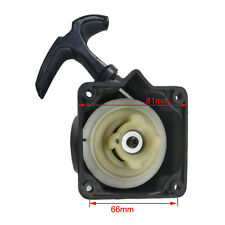 Recoil Pull Start Starter Plate Assembly for Brush Cutter Strimmer Lawnmower
