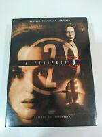 Expediente X Segunda Temporada 2 Completa 7 DVD Edicion Deluxe Español English