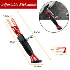 Adjustable Motorcycle Kickstand Foot Brace Parking Leg Foot Side Support Stand