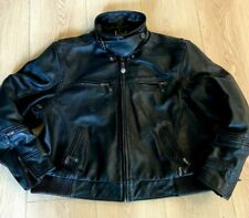 Xpert Performance Gear Mens Leather Motorcycle Padded Jacket Size 3XL-4XL