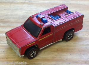 Mattel Hot Wheels Vintage 1974 Emergency Medic Truck! See Pics!