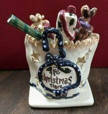 Blue Sky Clayworks Heather Goldminc 2001 The Christmas Store Bag of Presents