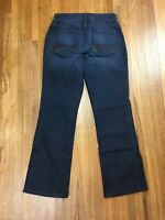 Not Your Daughters Jeans Womens Bootcut Jeans Sz 2 26x28 Stretch Dark Wash NYDJ