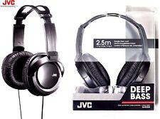 JVC HA-RX330 FULL SIZE EXTRA BASS STEREO OVER-EAR HEADPHONES HARX330 /BRAND NEW