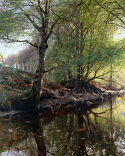 Forest Stream Peder MORK monsted 24' tela