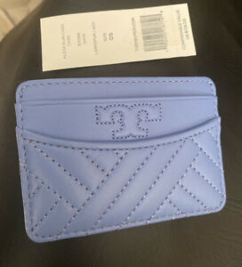 NWT Tory Burch Alexa Slim Card Case $118.00