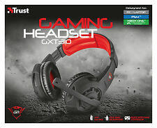 NEW TRUST 21187 SUPER STYLISH GXT310 OVER-EAR GAMING HEADSET FOR PC PS4 XBOX-ONE