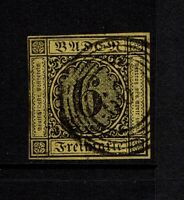 """Baden SC# 9, Used, five ring cancel """"66"""" - S8523"""