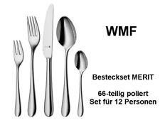 WMF Besteck MERIT Protect 66-tlg poliert, Set für 12 Personen