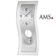 Ams Horloge murale 7300 avec pendule Quartz Geschwung À du Salon Montre