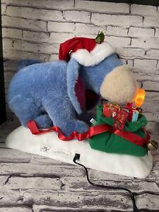 TELCO EEYORE  MOTIONETTE Lighted Christmas DISNEY WINNIE THE POOH Plug In
