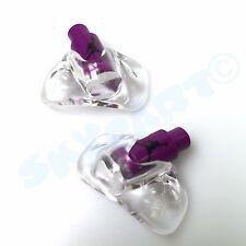 1 Pair New Jordan 5 Purple with Black Jumpman Replacement lace locks Grape