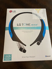 New listing Lg Tone Active Premium Wireless Bluetooth Stereo Headset Hbs-850 - Blue