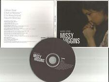 MISSY HIGGINS Where I stood UNRELASED & LIVE TRX CD single w/ Split Enz Cover