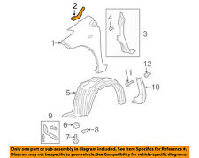 TOYOTA OEM 07-11 Yaris-Fender Seal Left 5386752080