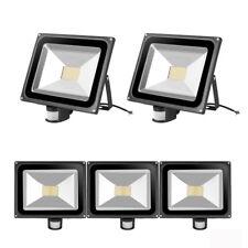 5X LED Floodlight PIR 80W Motion Activated Warm Garden Lighting Security Light