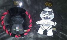 *NEW* Star Wars Darth Vader Storm Trooper Crinkle/Frisbee/Rope/Squeak Toy 4 Dogs
