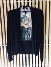 Ted Baker 'Behula' Opulent Bloom Cardigan Wool Blend Size 1 (8)