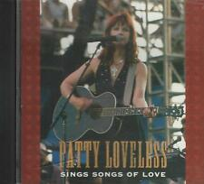 Music CD Patty Loveless Sings Songs Of Love