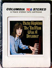 NICKY HOPKINS The Tin Man Was A Dreamer NEW SEALED 8 TRACK CARTRIDGE
