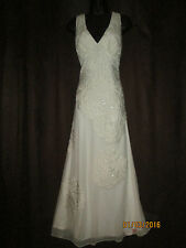 Nicholas Millington Vintage style Wedding/Evening Dress   UK 8