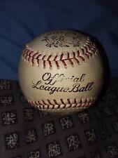 Vintage And Rare J deBeer & Son Official League Baseball Horsehide Cover
