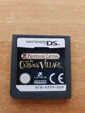 NDS NINTENDO DS LOOSE PROFESSOR LAYTON AND THE CURIOUS VILLAGE