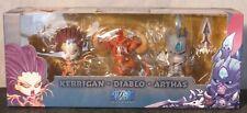 Blizzcon 2013 Cute But Deadly Exclusive Souvenir Set Kerrigan Diablo Arthas- NEW