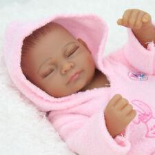 Lifelike 10 in. Anatomically Correct Reborn Doll Newborn Baby Girl Sleeping Kid