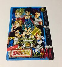 Carte dragon ball - Fancard super battle  Custom card prism Spécial 30TH VEGETA