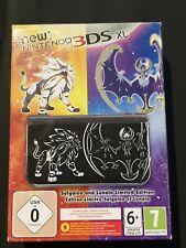 New Nintendo 3ds XL Pokemon Solgaleo and Lunala limited edition console Neuve et